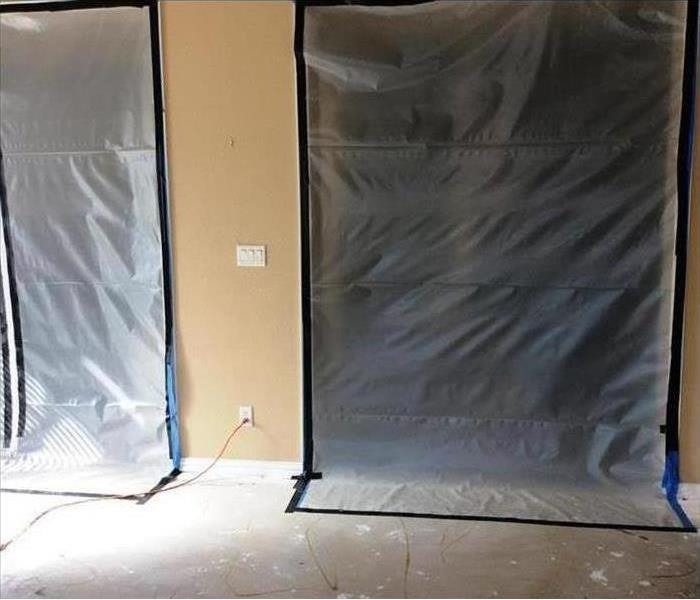 Containment is Key When Performing Mold Remediation  Before