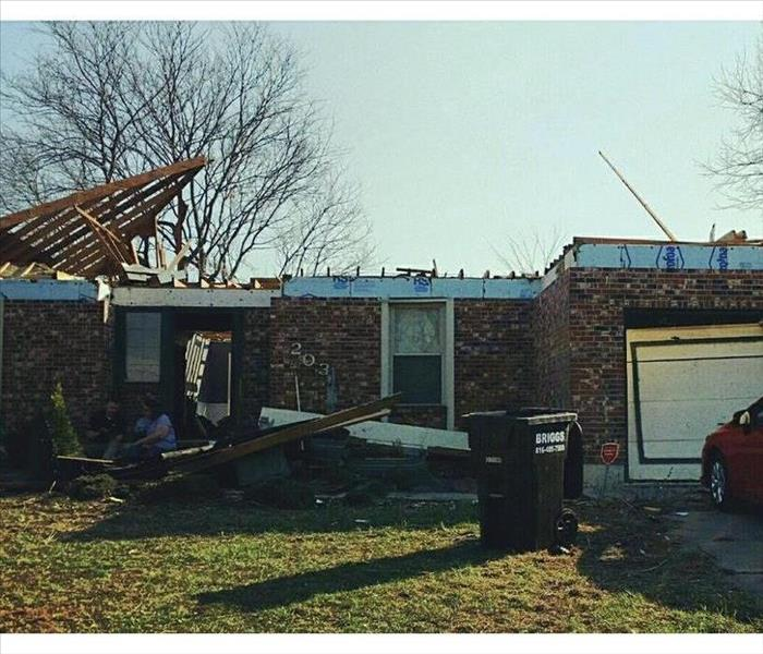 Oak Grove, MO Tornado Before
