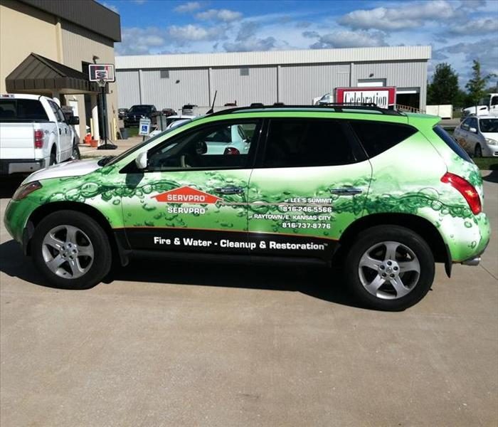 SERVPRO of Lee's Summit / Raytown / East Kansas City adds a new marketing vehicle!