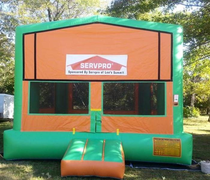 Community Pumpkins on Parade - SERVPRO Lees Summit Bounce House