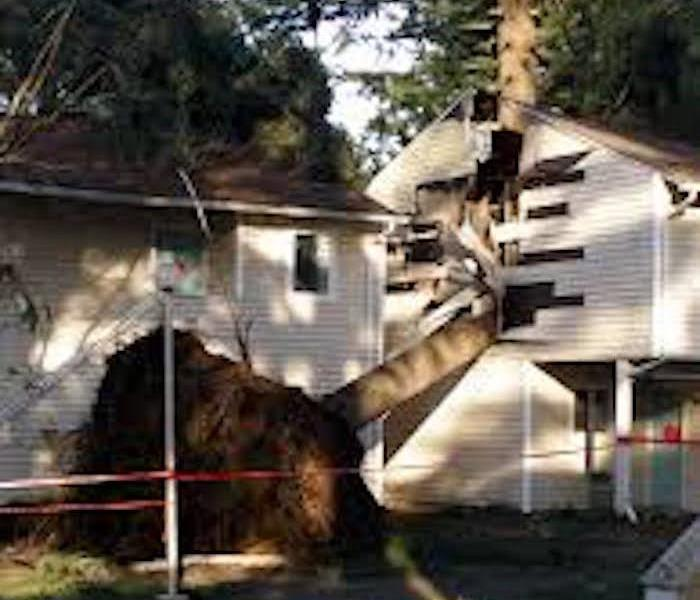 Storm Damage When Storms or Floods hit Lee's Summit, SERVPRO is ready!