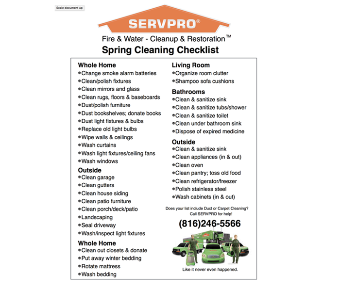 Cleaning Sprucing up your home for spring!